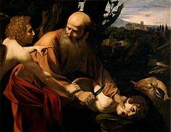 250px-Sacrifice_of_Isaac-Caravaggio_(Uffizi)[1]